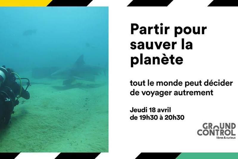 Conférence Partir pour sauver la planète