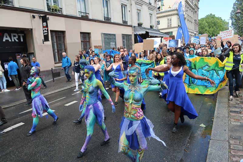 Marche mondiale pour l'océan