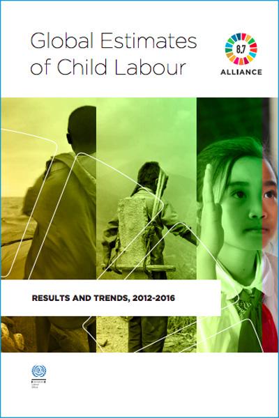 Le travail des enfants dans le monde l'Organisation internationale du travail OIT en 2016