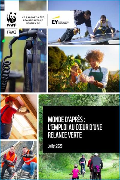 rapport WWF Monde d'après : l'emploi au cœur d'une relance verte