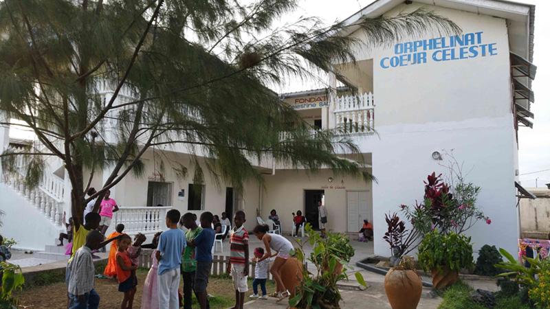 Orphelinat Coeur Celeste au Congo