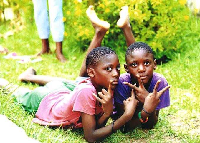 Orphelinat au Congo