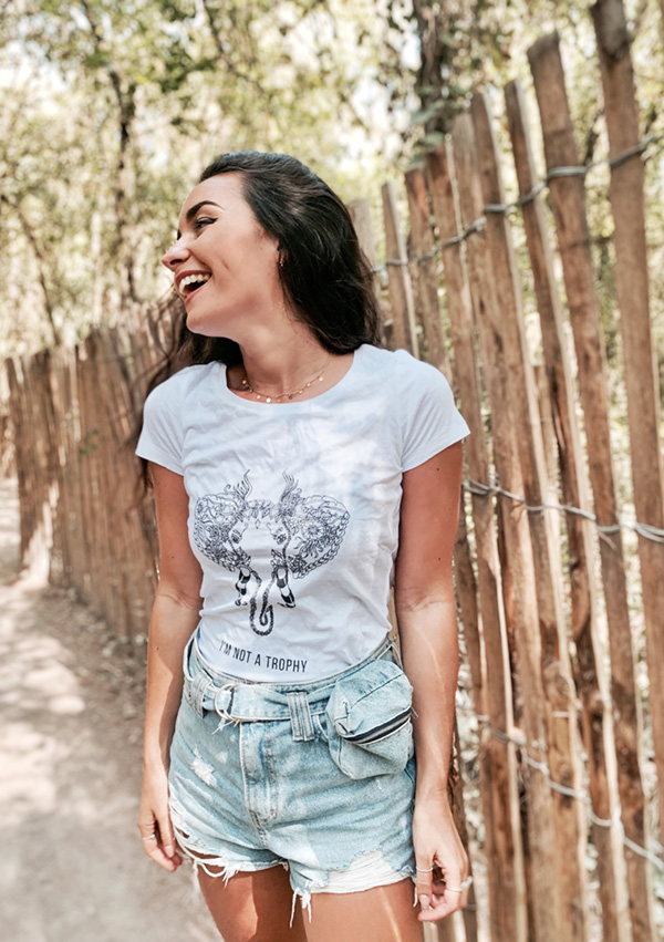 T-shirt Elephant I par Free Spirit
