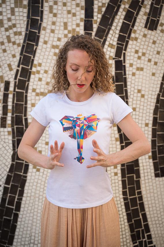 T-shirt Bio elephant couleur